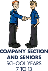Company Section and Seniors (school years 7 to 13)