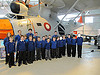 Group photo at RAF Museum Cosford